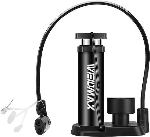 POMPA per Bicicletta Mini portatile leggero Pneumatico Ad Aria Palla Pompa per bicicletta bici UK