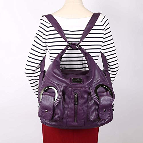 DORIS bags Casual bags NICOLE Women Totes Purple handbags amp; pockets slouch Hobo multiple purses Z5wIIRYqv