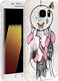 S6 Case Dreamcatcher, CCLOT Samsung Galaxy S6 Cover Protective Beautiful Dream Catcher Theme Design (TPU Protective Silicone Cover)