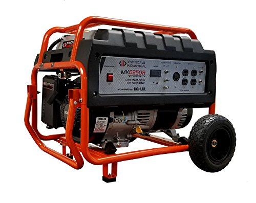 IRWINDALE INDUSTRIAL MK6250R Portable Generator 6250 Watt...