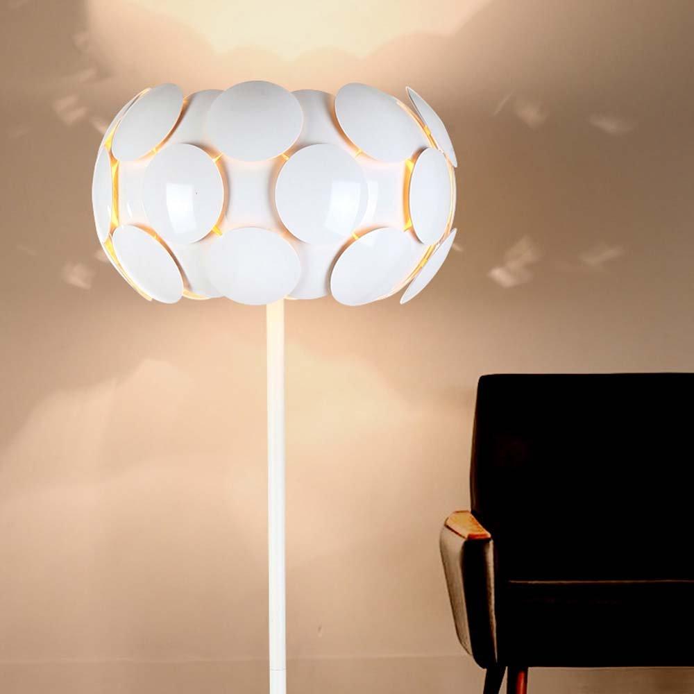 Im europäischen Stil Stehlampe Serie Modernes minimalistisches kreatives rundes Schmiedeeisen Stehleuchte Wohnzimmer Schlafzimmer Studie Stehleuchte - Retro-Stehlampe
