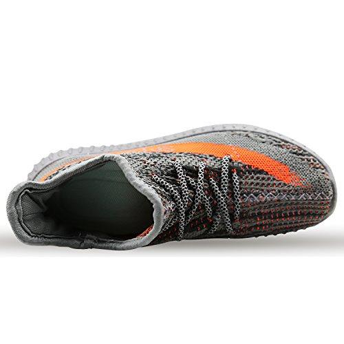 YEEZYM Mode Leichte Turnschuhe Unisex Schuhe Für Paar Männer Frauen Grau
