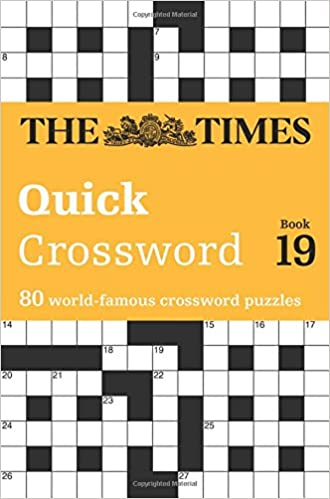 The times quick crossword book 19 times 2 crossword amazon the times quick crossword book 19 times 2 crossword amazon the times mind games john grimshaw 9780007580804 books negle Images
