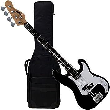 Bajo electrico negro con Funda Harley Storm PB-20BK BAG: Amazon.es: Instrumentos musicales