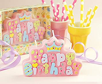 meoly Creative carta bebé cumpleaños velas encantadora ...