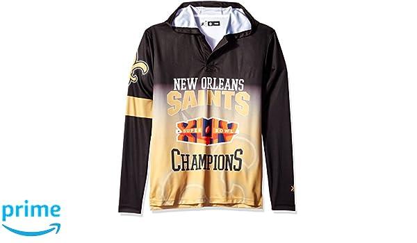 4b300a42a Amazon.com   FOCO NFL New Orleans Saints Super Bowl XLIV Champions Hoody Tee