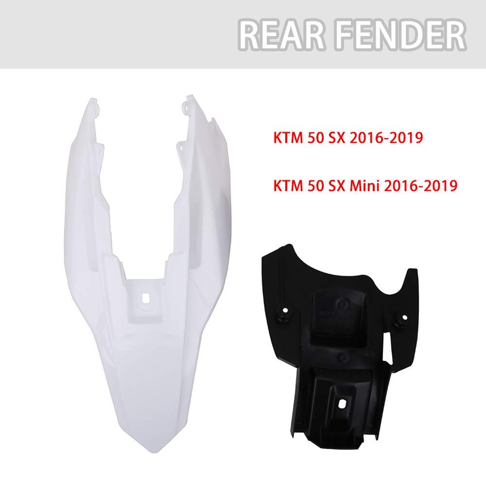 AnXin Plastic Fender Fairing Kits Kit Body Work Set Compatible With KTM 50 SX//SX MINI 2016-2019 2017 2018