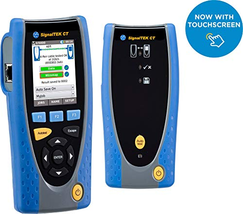 Touch Screen Network - IDEAL Networks R156006 SignalTEK CT with Touchscreen