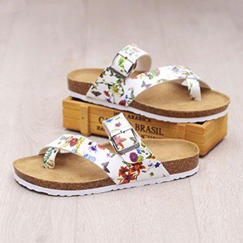 Sandalias de Vestir Sandalias Zuecos para Mujer Chanclas Flor