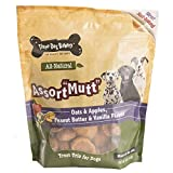soft bake cookies - Three Dog Bakery Classic Wafers Baked Dog Trests, Assortmutt Oats & Apples, Peanut and Vanilla, 32 oz
