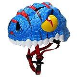 Cheap Bavilk Toddler Multi Sports Helmet 3D Cartoon Kids Bike Helmets for Girls&Boys (Blue Dinosaur)