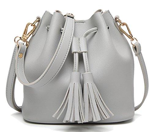 Seaoeey Ladies Handbags Purse Casual Tote Shoulder Bags Satchel for Women and Girls ()