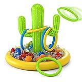 Jasonwell Inflatable Cactus Drink Holder Float