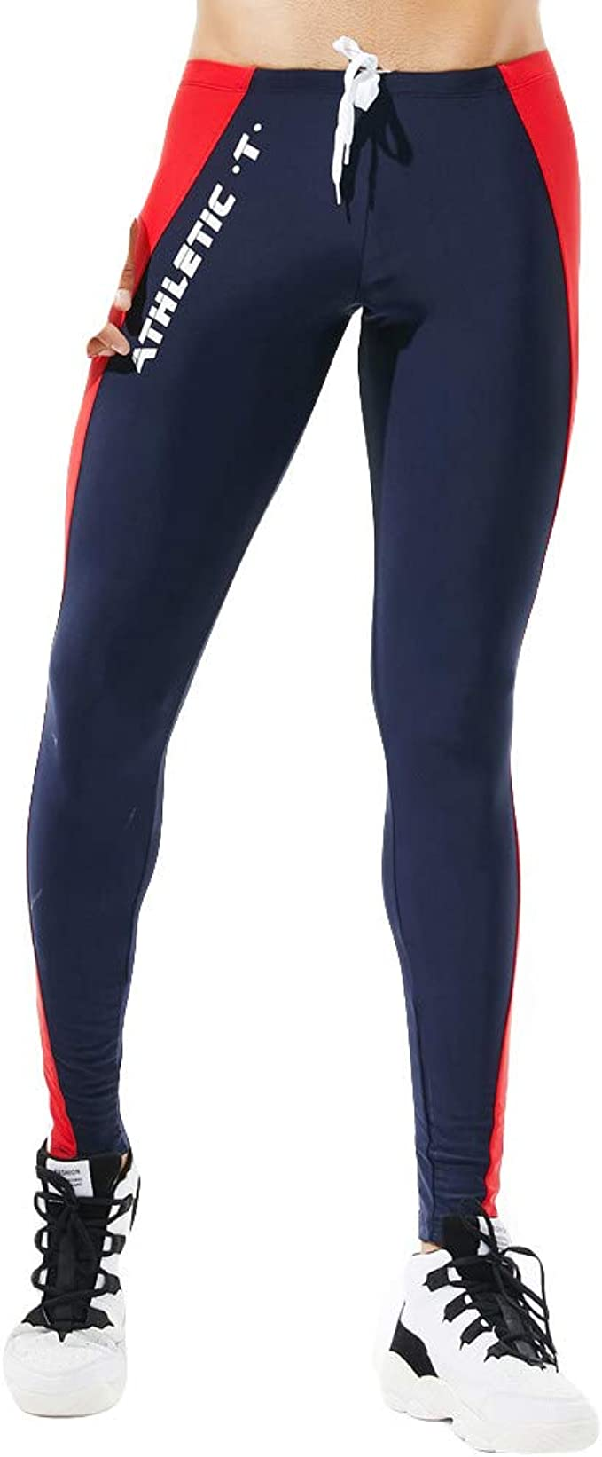 Leggins Hombres Deportivos Pantalones Deportivos de Colores para ...