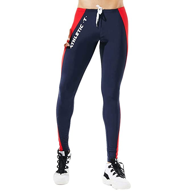 a1bfedc5364c9 Leggins Hombres Deportivos Pantalones Deportivos de Colores para Hombres  Leotardos Transpirables de Secado rápido Leggings térmicos Running Yoga  Fitness  ...