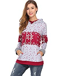 Women's Colorblock Raglan Sweatshirts Pullover Hoodies With Pockets