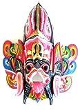 Bali Mask Wall Decor Garuda Vishnu Bird Mask Hindu Barong Mask- Collector's Item- OMA BRAND
