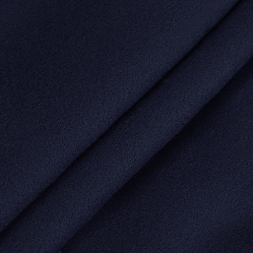 Winter Coats for Women Plus Size Classic Hooded Pea Coat Outwear Jacket by BSGSH
