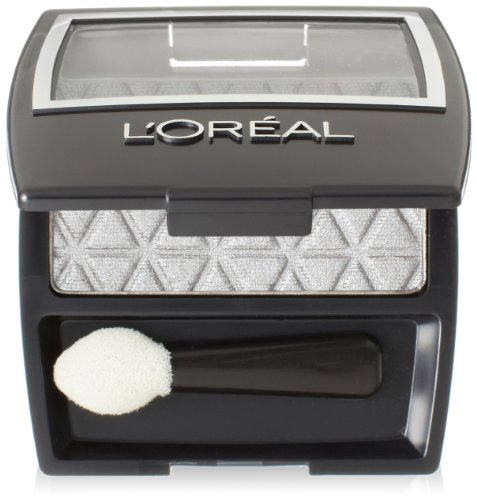 L'Oreal Paris  Secrets  Eye Shadow Singles, Pure Silver, 0.1