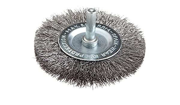 3-Inch Forney 60016 Wheel Brush Coarse Crimped Wire with 1//4-Inch Shank