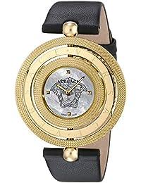 Women's VQT020015 Eon Analog Display Quartz Black Watch