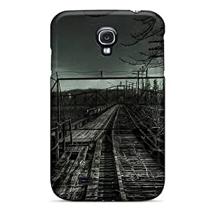 New Snap-on NikRun Skin Case Cover Compatible With Galaxy S4- Old Railroad