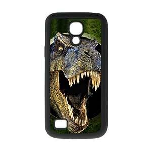 Cool Horror Jurassic Dinosaur Coming Run Rubber and Plastic Case Cover for Galaxy S4 Mini I9192/I9198