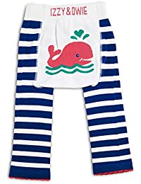Izzy & Owie Baby Girl Leggings Whale, 12-24 Month