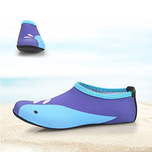 Surf Women Water Diving Children KINDOYO 4 Socks Men Slip Shoes Beach Swim Children Aqua Style Sports Kid Non Wetsuit x1wgp