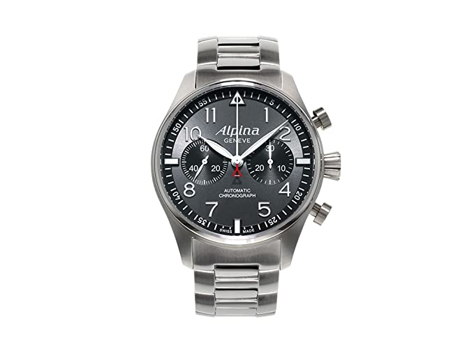 Alpina Geneve Startimer Chronograph AL-860GB4S6B Reloj para hombres Alpina Rotor: Amazon.es: Relojes