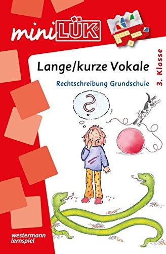 miniLÜK: Lange / kurze Vokale: Rechtschreibung Grundschule ab 3.Klasse