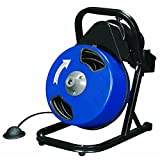 electric auger - 1/2 inch by 50 feet Compact Electric Drain Cleaner Drum Auger Snake (1