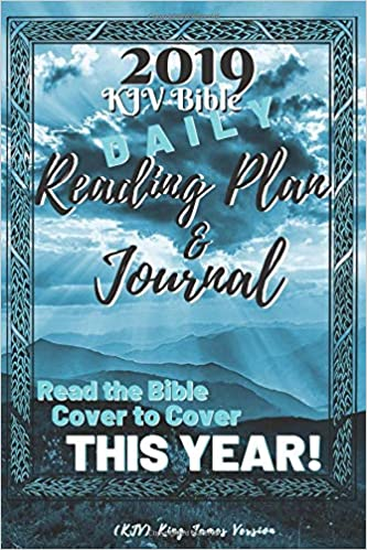 KJV Bible Daily Reading Plan & Journal: