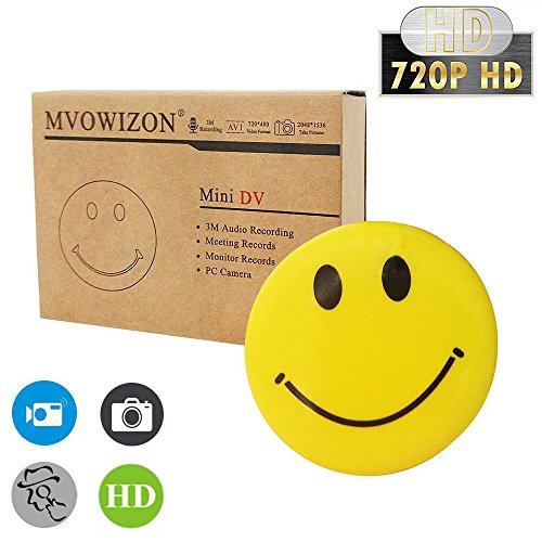 mini smiley face spy camera