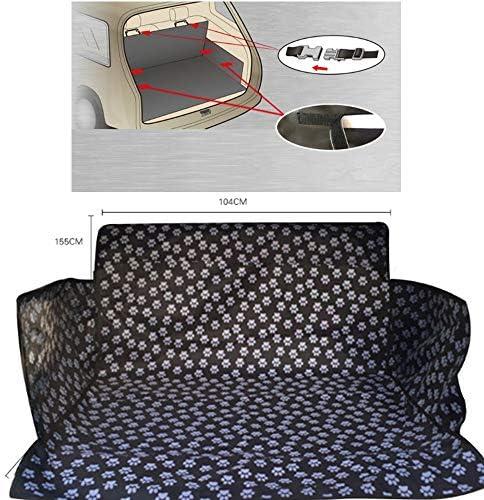 ペットシートカバー カバーをバックアップカーブーツライナープロテクター防水犬のシートカバー後部座席旅行滑り止め (Color : One color, Size : 104x155cm)