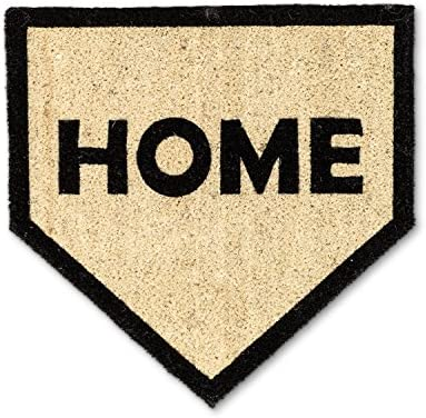Abbott Collection 35-PFW SH 1151 Home Plate Doormat