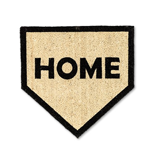 Abbott Collection 35-PFW/SH 1151 Home Plate Doormat Baseball Home Plate Size
