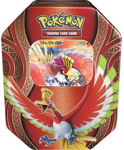 lively moments Naipes de Pokemon Caja de Lata Ho-Oh - GX de Alemán ...