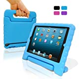 KHOMO ® SAFEKIDS Children Proof Durable Case for Kids Specially made for Apple iPad Mini 7.9 (Blue)