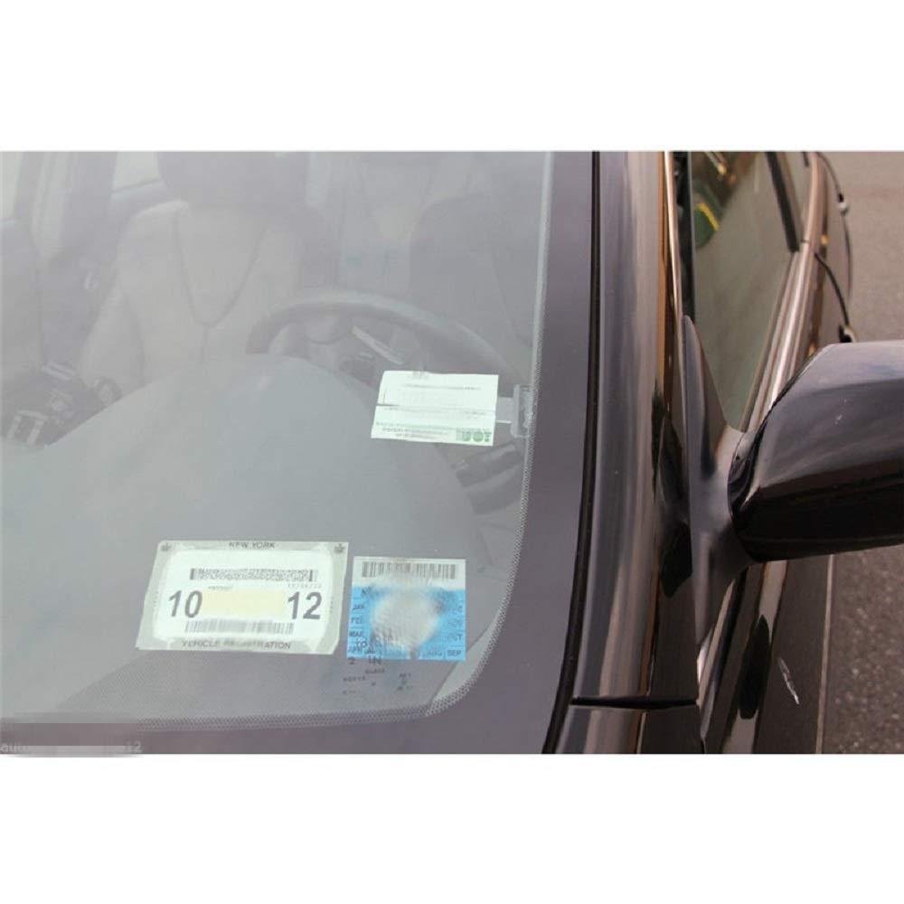 WESEEDOO Parkausweishalter Beachten Sie Clips Parkscheinhalter f/ür Windschutzscheiben Car Van Caravan-Windschild-Karteninhaber