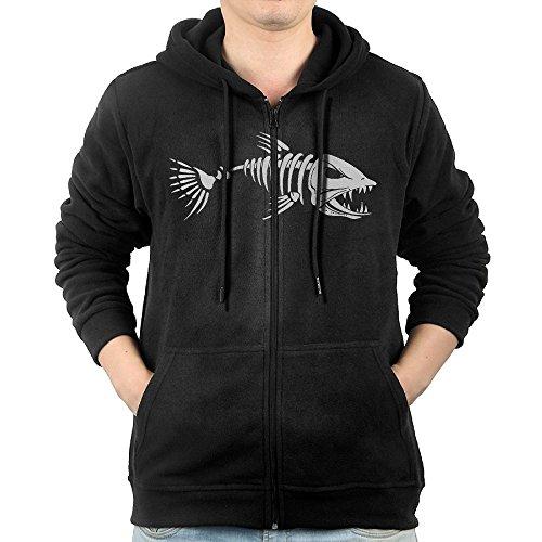 Fish Zip Hoodie - 1