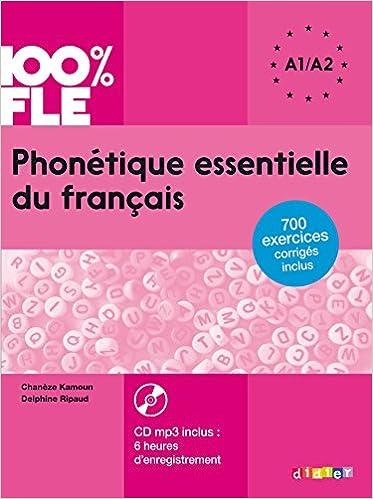 Phonetique Essentielle Du Francais Niveau A1 A2 Livre Cd