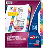 Avery A-Z Tab Dividers for 3 Ring