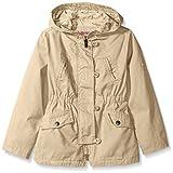 Urban Republic Little Girls' Cotton Twill Anorak Jacket, Khaki, 6X