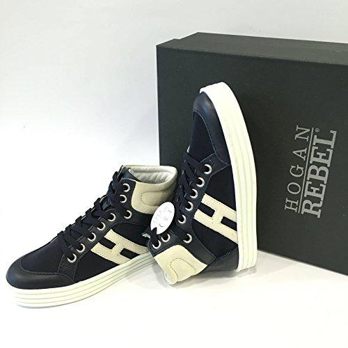 HOGAN Rebel Bambino 141072838G Blu Polacco Primavera/Estate