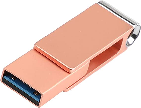 High Speed Rotate Type C USB 3.0 Dual Flash Drive USB A 3.0 // USB C