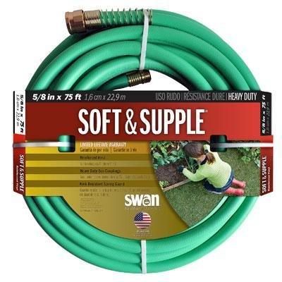Swan House SNSS58075 5/8 in x 75' Soft & Supple Garden Hose