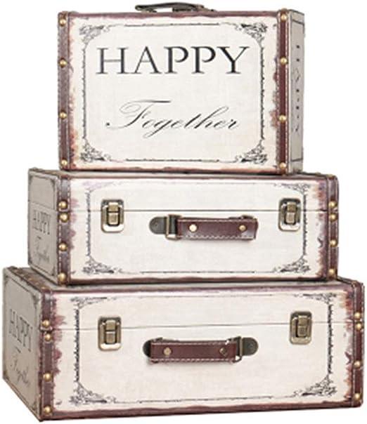 Troncos de almacenamiento 3-Pack Fotografía Caja de almacenamiento ...
