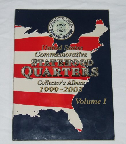 1999 2000 State Quarter - US Commemorative Statehood Quarters Collector's Album 1999-2003 Volume 1