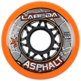 x1 org - Labeda WHEELS Inline Roller Hockey GRIPPER ASPHALT OUTDOOR ORANGE 76mm 85A x1